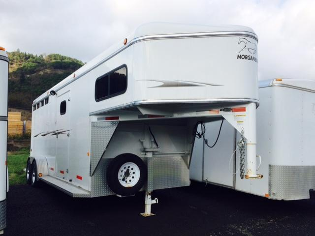 2003 Morgan Built 3H GN Horse Trailer 31010249