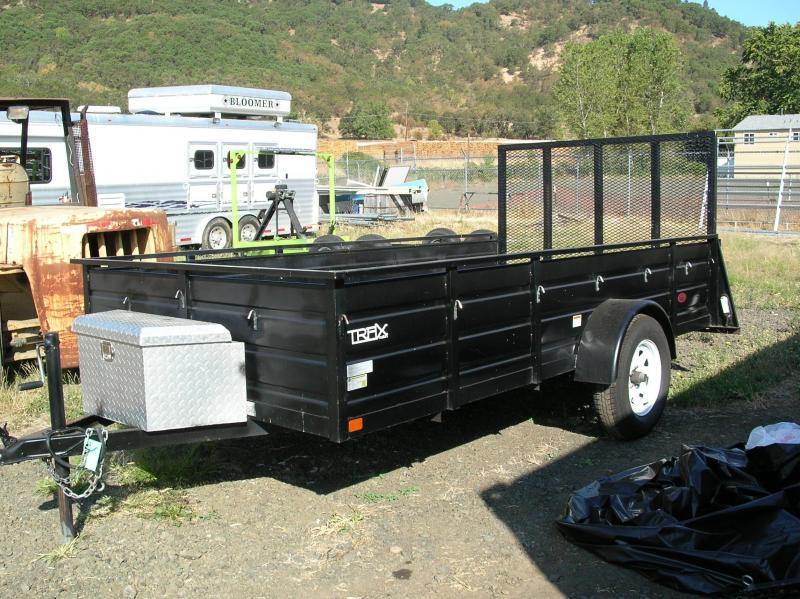 2009 Trax 6x12 Box Trailer 9C376633