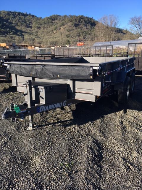 "2018 Diamond C 77""x12 Dump Trailer J1196387"