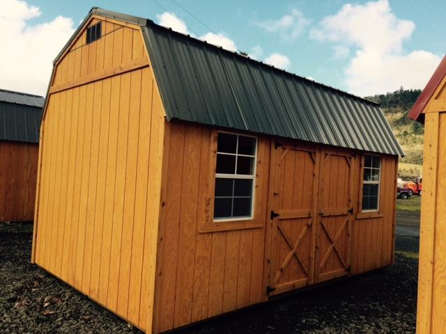 Old Hickory Shed 10x16 Side Lofted Barn T641