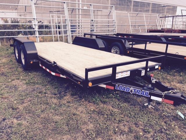 2017 Load Trail 7x18 Car Hauler Flatbed Trailer H1122634