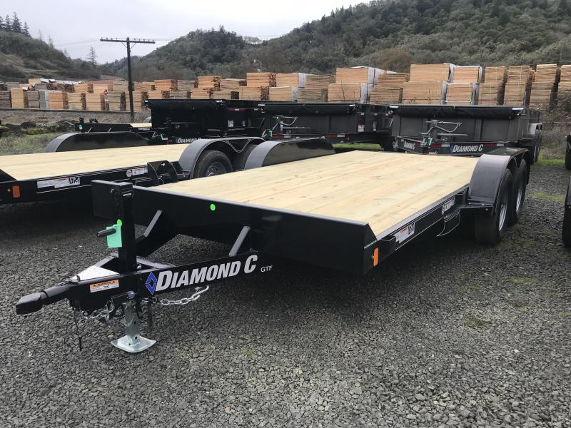 2019 Diamond C Trailers GTF235 18X83 Flatbed Car / Racing Trailer K1310730