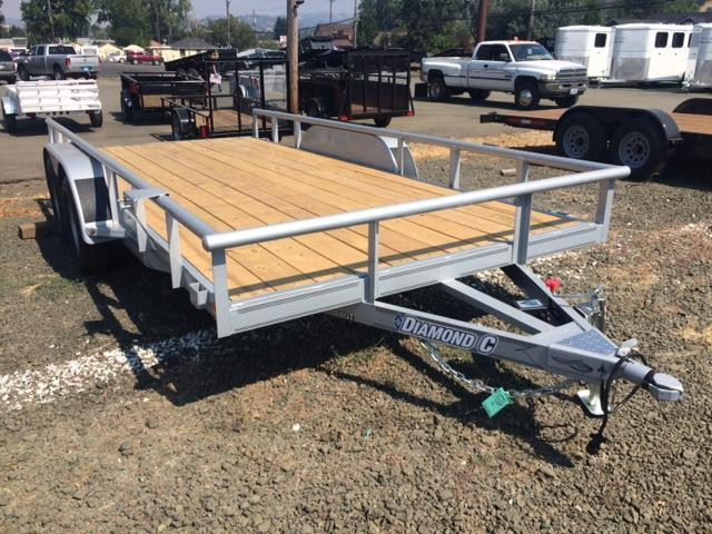 "2017 Diamond C 83""x16 Utility Flatbed Trailer H1191842"