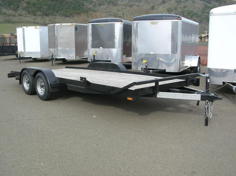 2013 Forest River Inc. 7x18 Flatbed Trailer DT506122