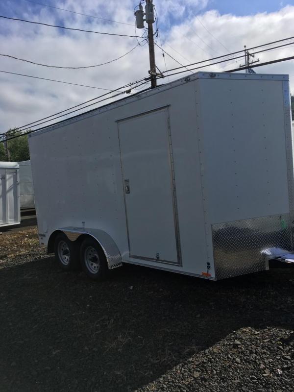 2019 Continental Cargo VHW714TA2 7x14 Enclosed Cargo Trailer KF713741