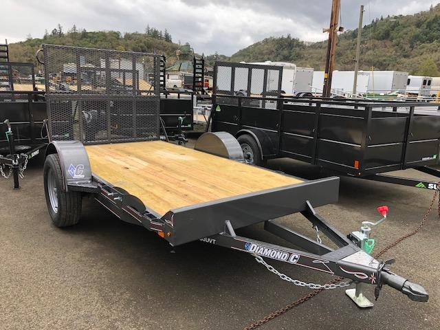 "2018 Diamond C 33UVT-10' X60"" Utility Trailer J1195071"