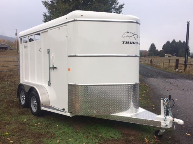 2018 Thuro-Bilt 2H Wrangler Horse Trailer JR180035