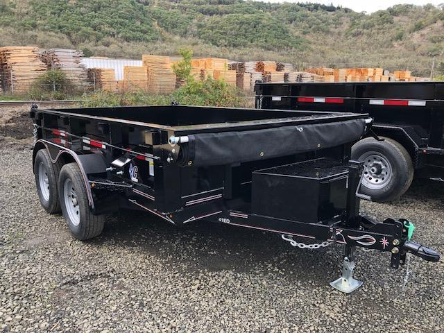"2018 Diamond C 77""x10 Dump Trailer J1194931"