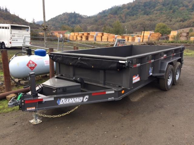 "2018 Diamond C 82""x14 Low Pro Dump Trailer J1194128"
