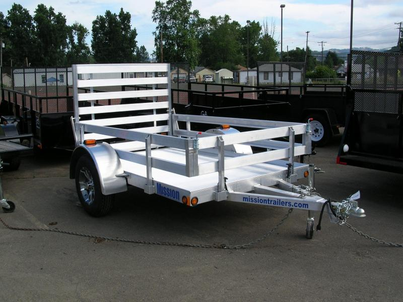 2014 Mission 5x8 Utility Trailer EB003250