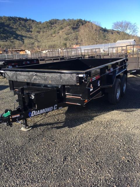"2018 Diamond C 77""x12 Dump Trailer J1196389"
