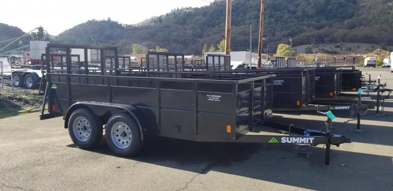 2019 Summit CASCADE 6X12 Utility Trailer