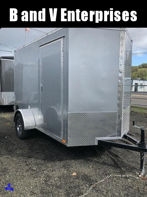 2020 Continental Cargo VHW610SA 6X10 Enclosed Cargo Trailer #LF718812