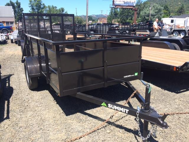 2019 Summit ALPINE AU610SA 6X10 BOX UTILITY Trailer