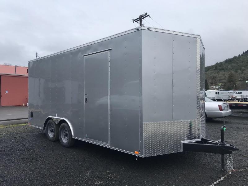 2019 Continental Cargo Car hauler VHW8518TA2  8.5 X 18 Enclosed Cargo Trailer