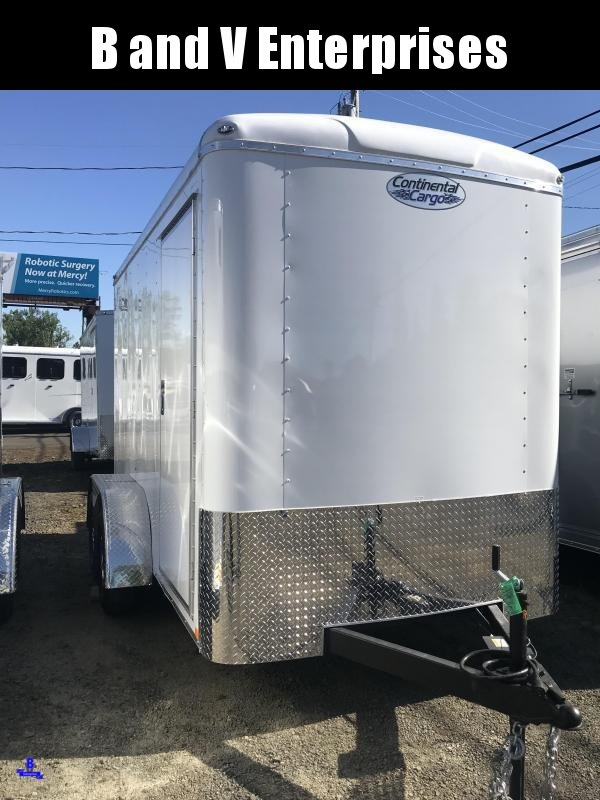 2020 Continental Cargo TW612TA2 TAILWIND 6X12 Enclosed Cargo Trailer #LF717977