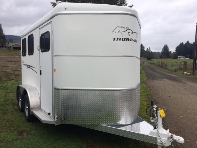 2018 Thuro-Bilt 2H Renegade Horse Trailer
