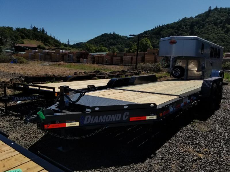 2019 DIAMOND C HDT207 82X20 SPLIT TILT EQUIPMENT TRAILER K1212172