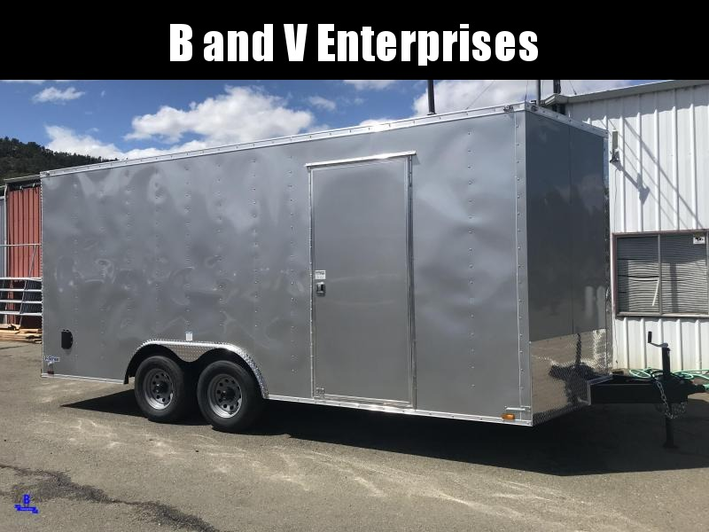2020 Continental Cargo Car hauler VHW8518TA3 8.5 X 18 10K Enclosed Trailer
