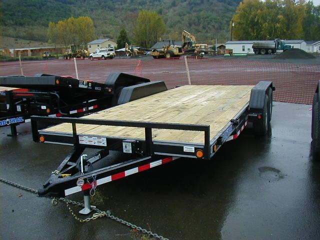 2014 Load Trail 7x18 Flatbed Trailer E1051819