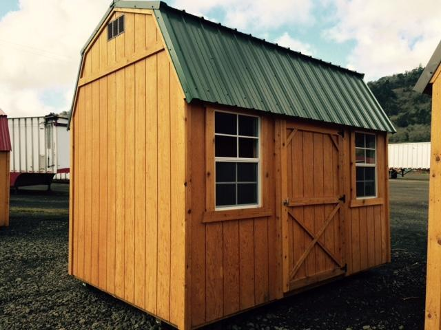 Old Hickory Shed 8x12 Side Lofted Barn T491
