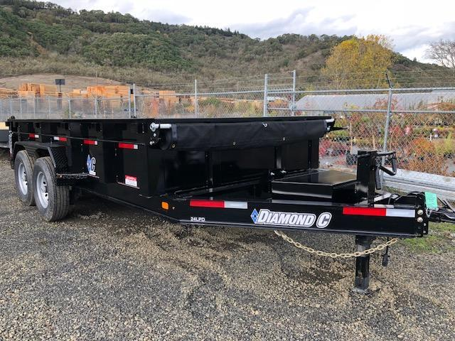 "2018 Diamond C 82""x14 Low Pro Dump Trailer J1194992"