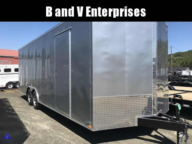 2020 Continental Cargo Car hauler VHW8524TA3  8.5 X 24 Enclosed Cargo Trailer #LF718898