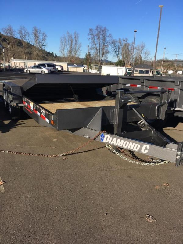 "2018 Diamond C 82""x20 Split Deck Tilt Trailer J1196074"
