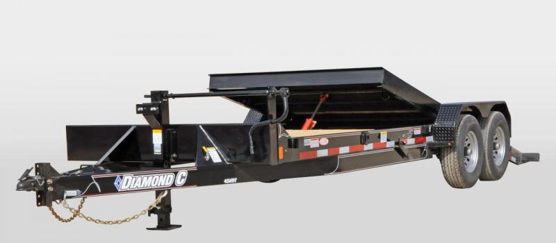 2019 DIAMOND  C 45 HDT 82X20 EQUIPMENT SPLIT TILT TRAILER