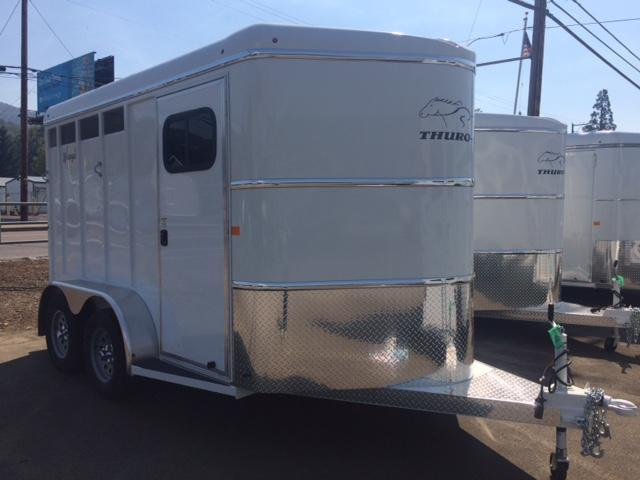 2018 Thuro-Bilt 2H Wrangler Horse Trailer JR180022