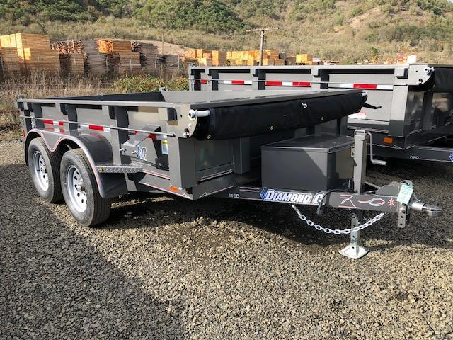 "2018 Diamond C 77""x10 Dump Trailer J1194932"