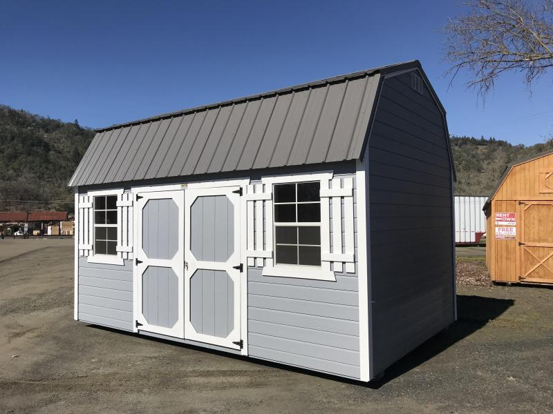 2019 Old Hickory Shed 10x16 Side Lofted WSLBX Barn T4455