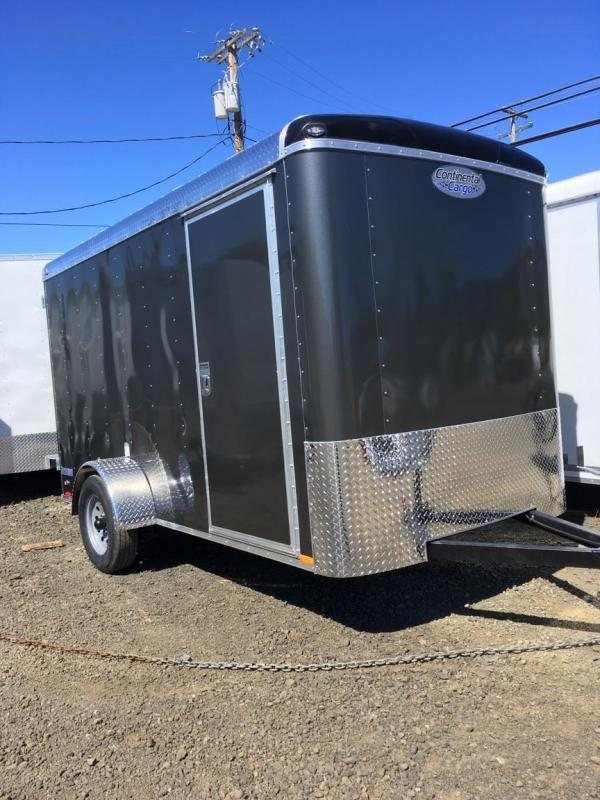 2019 Continental Cargo TAILWIND 6X12 Enclosed Cargo Trailer