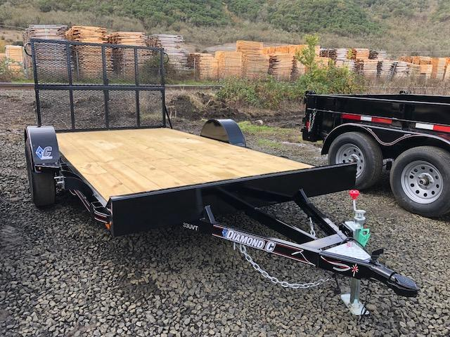 "2018 Diamond C 72""x12 Utility Trailer J1195070"