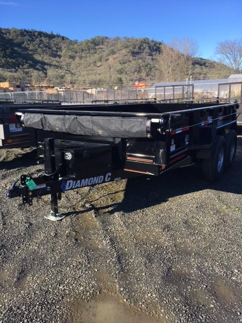"2018 Diamond C 77""x12 Dump Trailer J1196388"
