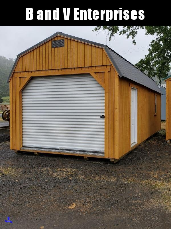 2019 Old Hickory Shed WLGX 12 X 28 LOFTED GARAGE PACKAGE SHED