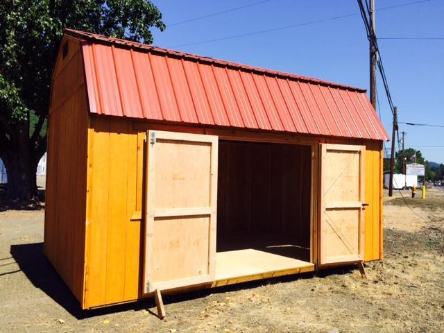 Old Hickory Shed 10x16 Side Lofted BarnT889