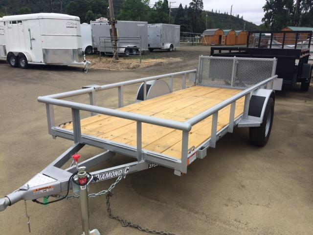 2017 Diamond C 5x12 Utility Trailer H1189877