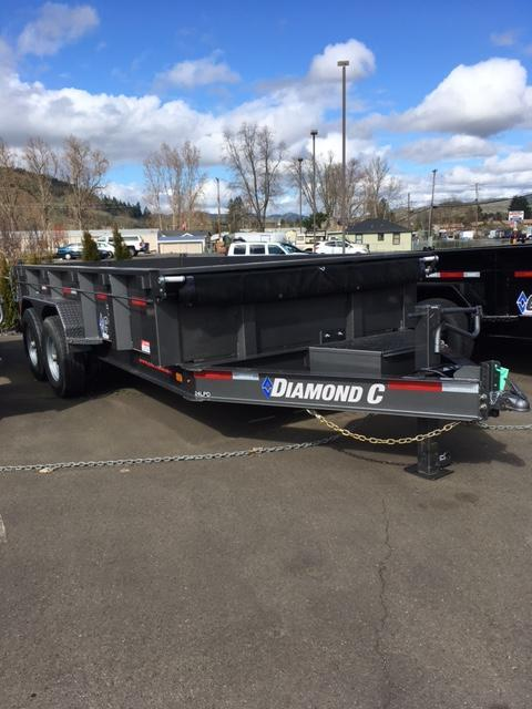 2018 Diamond C Trailers HD 24LPD 82X14 Dump Trailer