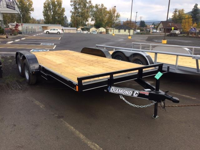 "2018 Diamond C 83""x16 Car Hauler Flatbed Trailer J1194350"