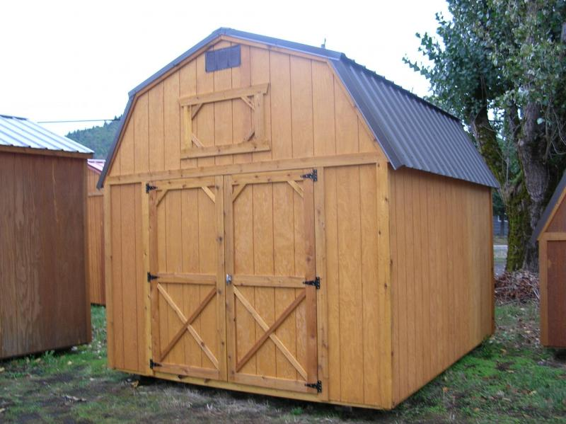 Old Hickory Shed 10x12 Lofted Barn T375
