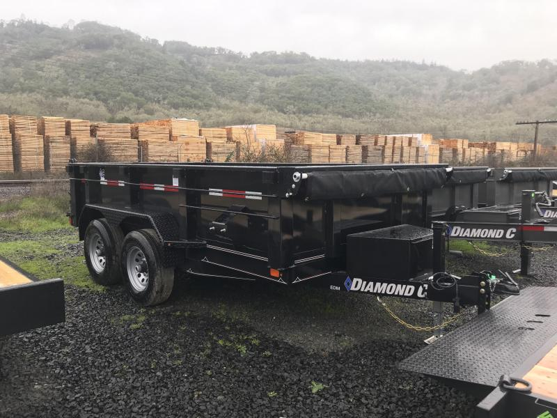 2019 Diamond C Trailers EDM252 77x12  Dump Trailer K1211165