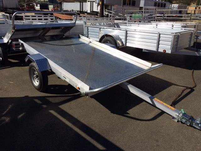2016 Premier Plus 5x8 Aluminum Tilt Bed Flatbed Trailer G1003117