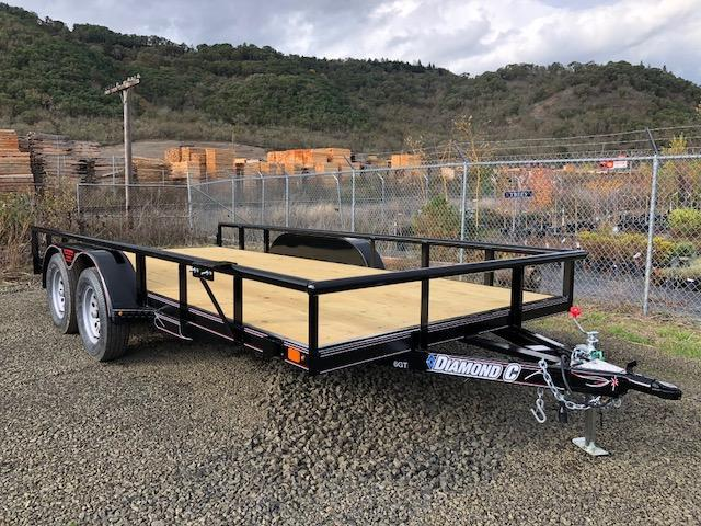 "2018 Diamond C 83""x16 Utility Trailer J1194477"