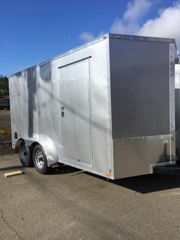 2019 Continental Cargo VHW714TA2 7x14 Enclosed Cargo Trailer KF713740