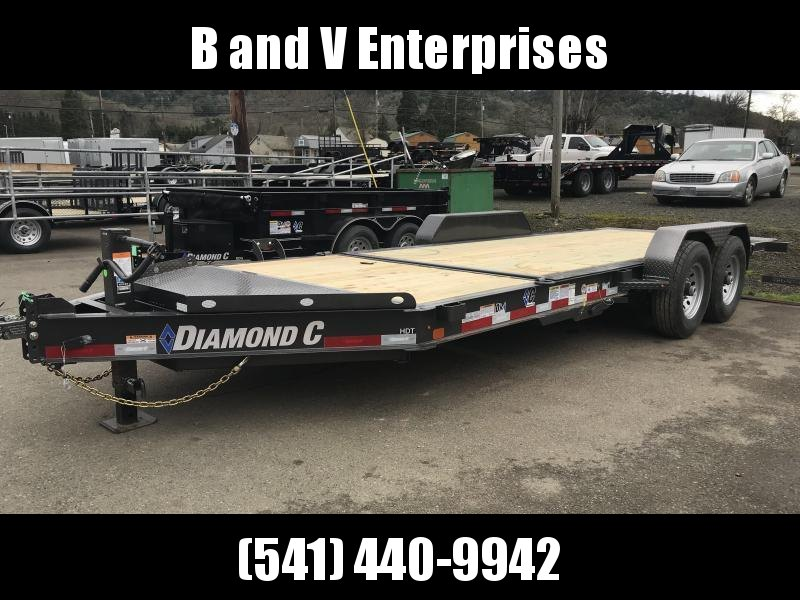 2019 DIAMOND C HDT207 82X20 SPLIT TILT EQUIPMENT TRAILER K1212170