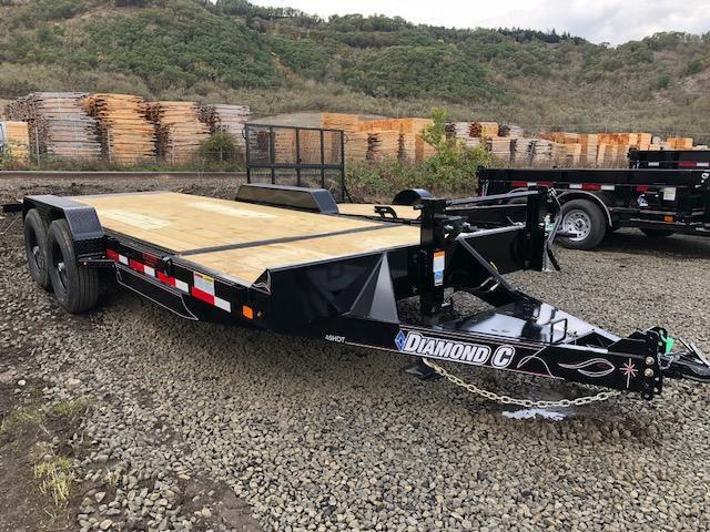 "2018 Diamond C 82""x20 Split Deck Tilt Flatbed Trailer J1194933"