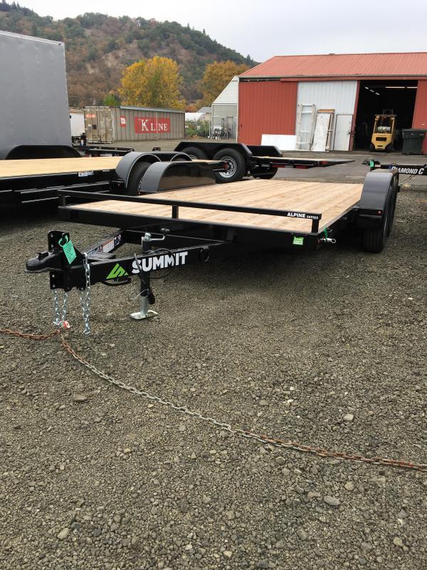 2019 Summit Alpine A716TA2 FULL TILT Flatbed Trailer K1004080