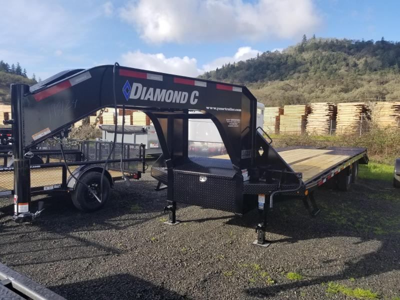 2018 Diamond C Trailers FMAX210 GOOSENECK FLATBED ENGINEERED FRAME RAMPS J11981214