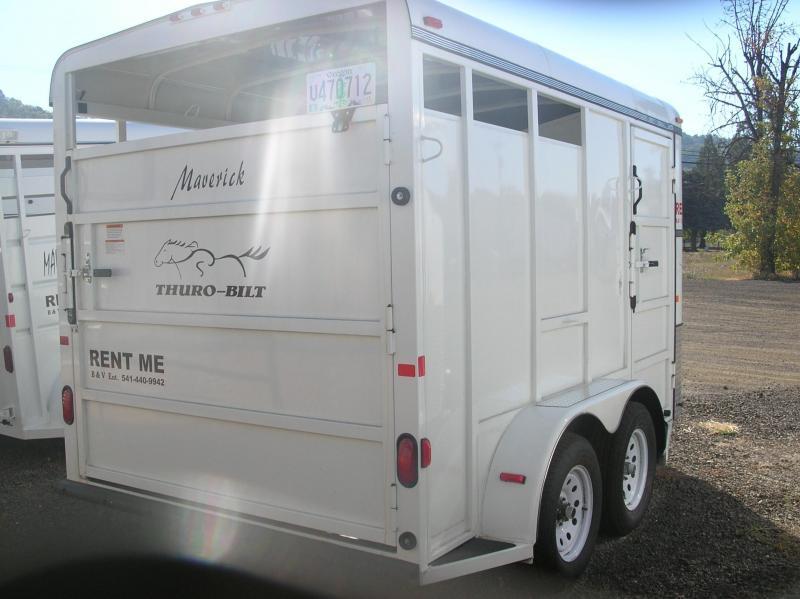 2013 Thuro-Bilt 2H Maverick Horse Trailer DR130001